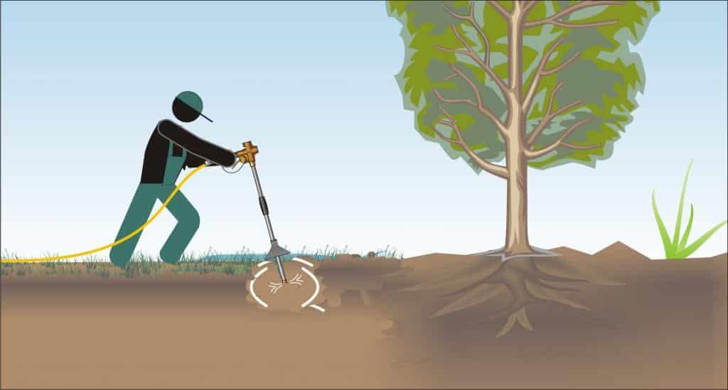 Einsatz der Luftlanze