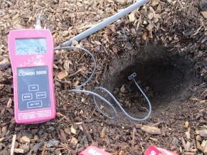 Bodenfeuchte messen